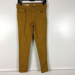 Pilcro & The Letterpress Orange Skinny Jeans 27